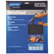 Norton 47855 Metalsand Cloth Emry Hndy Pk Asst 9X11in 3 Pack