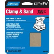 Norton 48300 Multisand Sanding Sheet 4.5X5.5 150 Grit 6 Pack