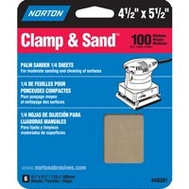 Norton 48301 Multisand 4.5 By 5.5 Multisand Sheet 100 6P