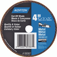 Norton 07660789387 4 By 1/8 By 3/8 Metal Aluminum Oxide Type 1