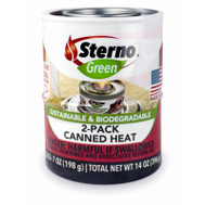 Sterno 20366 2 Pack Canned Cooking Fuel