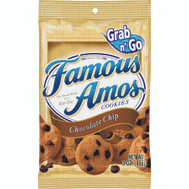 Continental Concession KEE19135 Famous Amos Cookies Choc Chip Famous Amos