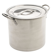 Bradshaw 06181 12 Quart Stainless Steel Stock Pot
