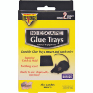 Bonide 47020 Revenge Mouse Glue Trap Tray 2Pk 2 Pack