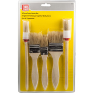 Great Neck 17517 5 Piece Soft Bristle Paint Brush Set