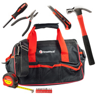 Great Neck 92093 15 Piece Tool Set plus Tool Bag