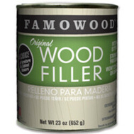 Eclectic 36021142 Famowood Filler Wood In Ex Walnut 23 Ounce