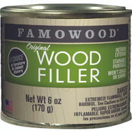 Eclectic 36141142 Famowood Filler Wood Int Ext Walnut 6 Ounce
