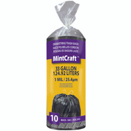 Vulcan FG-O3812-02 Trash Bag Drawstrng 33Gal 10Ct