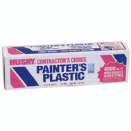 Husky FG-P9941-07E 12 By 400 By.0035 Lightweight Painters Plastic