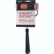 Linzer MT103-11-4IN Impact 4 Inch 3/8 Inch Nap Polyester One Coat Knit Roller Cover And 11 Inch Handle