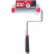 Linzer RF215-9 9 Inch 5 Wire Cage Non Slip Paint Roller Frame Wth Rubberized Handle