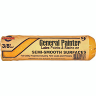 Linzer RC1138 General Painter 9 Inch 3/8 Inch Nap Utility Interior Roller Cover