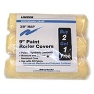 Linzer RS1433 Roller Cover Pylam 3Pk 9X3/8In 3 Pack