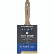 Linzer 3832-4 Project Select White Bristle And Polyester Blend Stain & Paint Brush 4 Inch