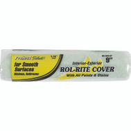 Linzer RR925-9 Rol Rite 9 Inch 1/4 Inch Pile Utility Smooth Surface Roller Cover