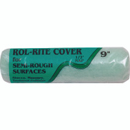Linzer RR950-9 Rol Rite 9 Inch 1/2 Inch Pile Utility Semi Smooth Surface Roller Cover