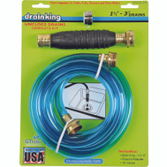 GT Water 340 Drain King 1-1/2 To 3 Inch Drain Opener And Cleaner Kit