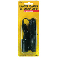 Hopkins 22-5-05103-V 10 Foot Lighter Extension Cord 12 Volt