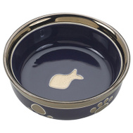 Ethical Pet 6883 5 Inch BLK/COP Cat Dish