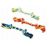 Ethical Pet 54230 9 Inch 2 Knot Rope Dog Toy