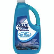 ITW Backer On WC107G Blue Coral 64 Ounce Concentrate Liquid Car Wash