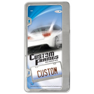 Custom Accessories 92871 Chrome Classic License Plate Frame