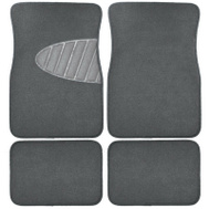 Custom Accessories 78915 4PC GRY Carpet FLR Mat