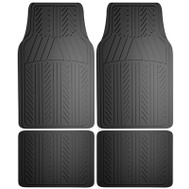 Custom Accessories 78911 4PC BLK Rubb FLR Mat