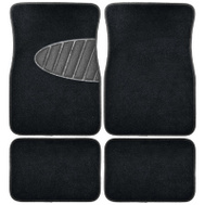 Custom Accessories 78914 4PC BLK Carpet FLR Mat
