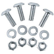 Custom Accessories 93367 4PK Licens PLT Fastener