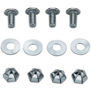 Custom Accessories 94445 Plate Nut And Bolt 4 Pack