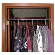 Knape & Vogt CD-0003 John Sterling Chrome Closet & Shower Jeb Rod 34 To 63 Inch