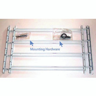 Knape & Vogt 1134 John Sterling Child Safety Window Guards White 4 Bar 14 By 24 To 42 Inch
