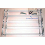 Knape & Vogt 1135 John Sterling Child Safety Window Guards White 5 Bar 18 By 24 To 42 Inch