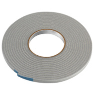 Thermwell V443 Frost King 3/16 Inch By 17 Foot Gray Vinyl Foam Weather Seal With Self Stick Tape