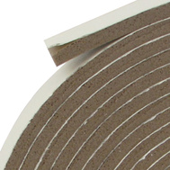 Thermwell V449BH Frost King 3/4 By 3/16 Brown Vinyl Foam Weatherstrip Tape
