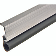Thermwell VA17H Frost King Extruded Aluminum With Adjustable Vinyl Gasket Door Insulation Set 3/4 Inch By 17 Foot Gray