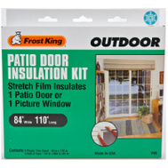 Thermwell V96 Frost King 84 Inch By 110 Inch Patio Door Insulation Kit
