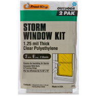 Thermwell P712H Frost King 3 By 6 Window Cover Kit
