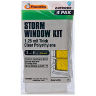 Thermwell P714H Frost King Window Kit 4 Piece 3 Foot X 6 Ft X 1-1/4 M
