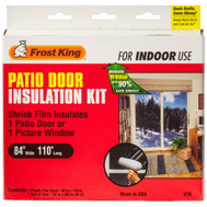 Thermwell V76 Frost King Patio Door Insulation Kit 84 Inch By 110 Inch