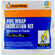 Thermwell SP41X Frost King Fiberglass Pipe Kit 3 By 1/2 By 25 Foot