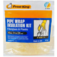 Thermwell SP46 Frost King Wrap Pipe Fiberglass 6Inx25ft
