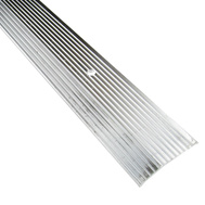 Thermwell H591FS/3 Frost King Carpet Bar 1-1/2 By 36 Inch Fluted Silver
