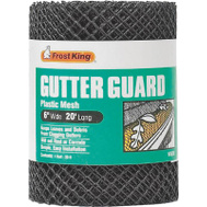 Thermwell VX620 Frost King Gutter Guard 6 Inch By 20 Foot