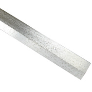 Thermwell H591HS/3 Frost King 1-1/2 By 36 Hammered Silver Carpet Bar