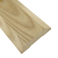 Thermwell WAT36HR Frost King 3-1/2 Inch Oak High Rug Exterior Saddle Threshold