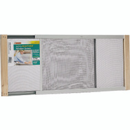 Thermwell AWS1537 Frost King 15 Inch Tall 22 To 37 Inch Adjustable Window Screen