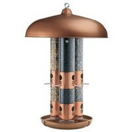 Woodstream 7103-2 Perky Pet Bird Feeder Tube Triple Copper